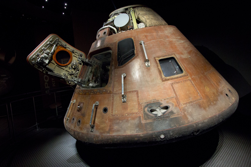 Kennedy Space Center: Apollo 8 rentry capsule.