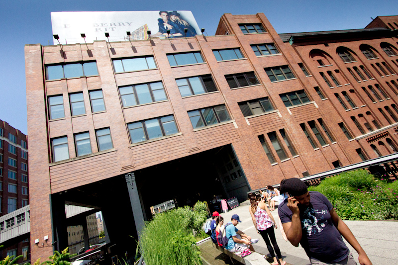 The High Line, New York: Photo series of buildings around the park.
