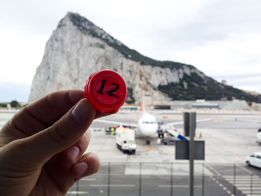 Currency of the Future: Gibraltar Airport, October 2012.