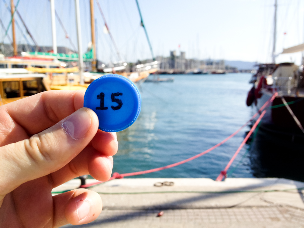 Currency of the Future: Bodrum, Turkey, October 2012.