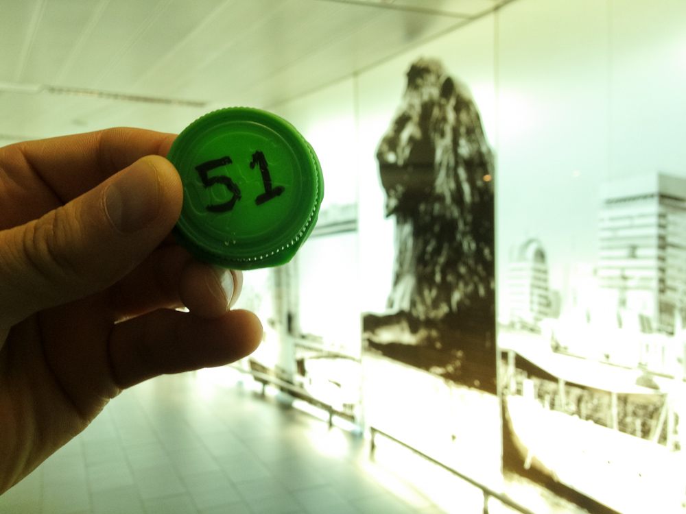 Currency of the Future: Heathrow Ariport, London, July 2013.