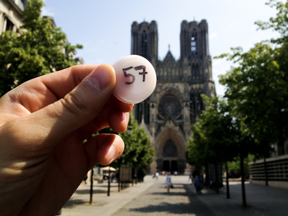Currency of the Future: Reims, France, July 2013.
