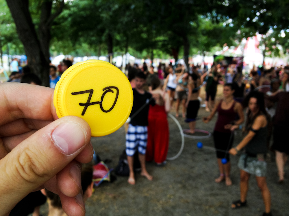 Currency of the Future: European Juggling Convention, Toulouse, France, July 2013.