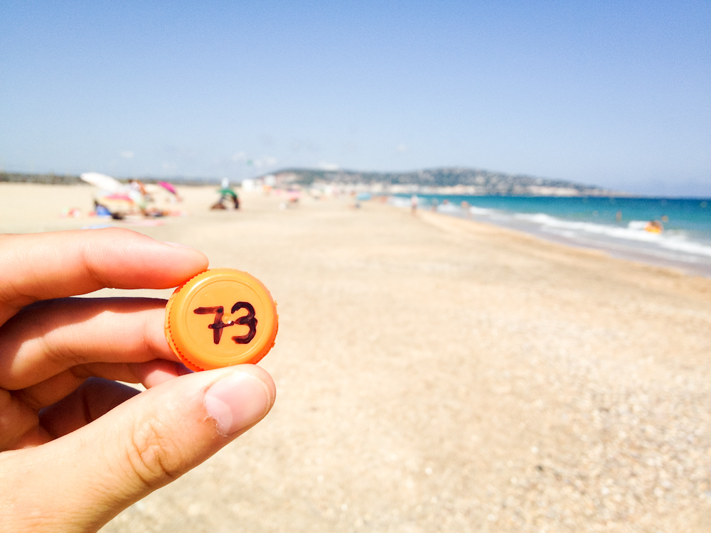 Currency of the Future: Sete, France, August 2013.