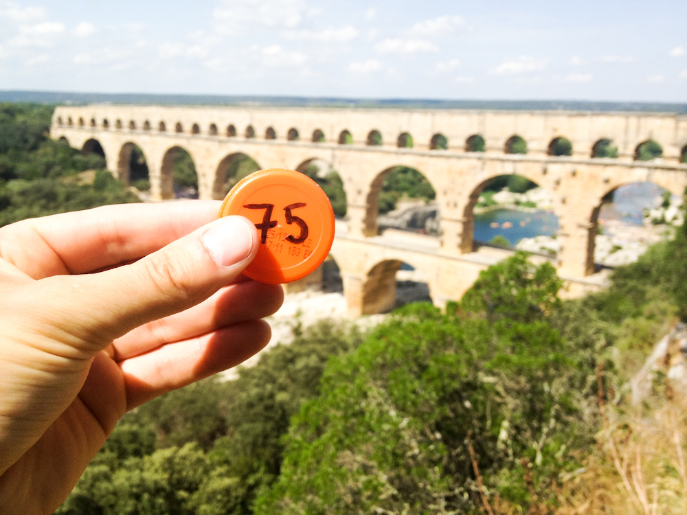 Currency of the Future: Pont du Gard, France, August 2013.