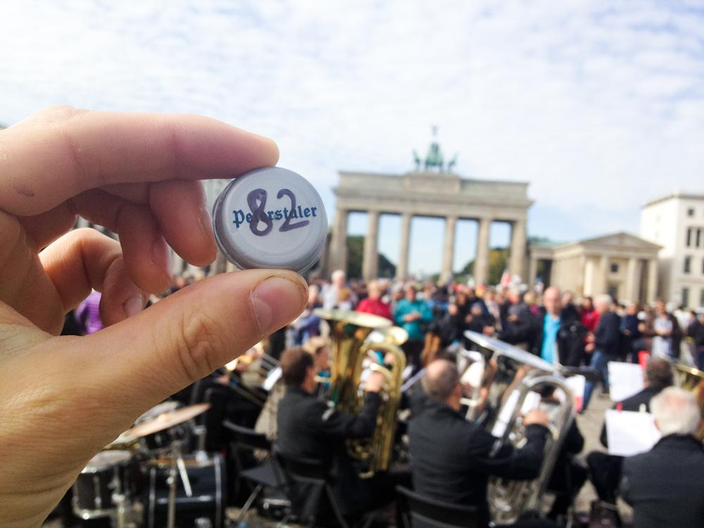 Currency of the Future: Brandenburger Tor, Berlin, September 2013.