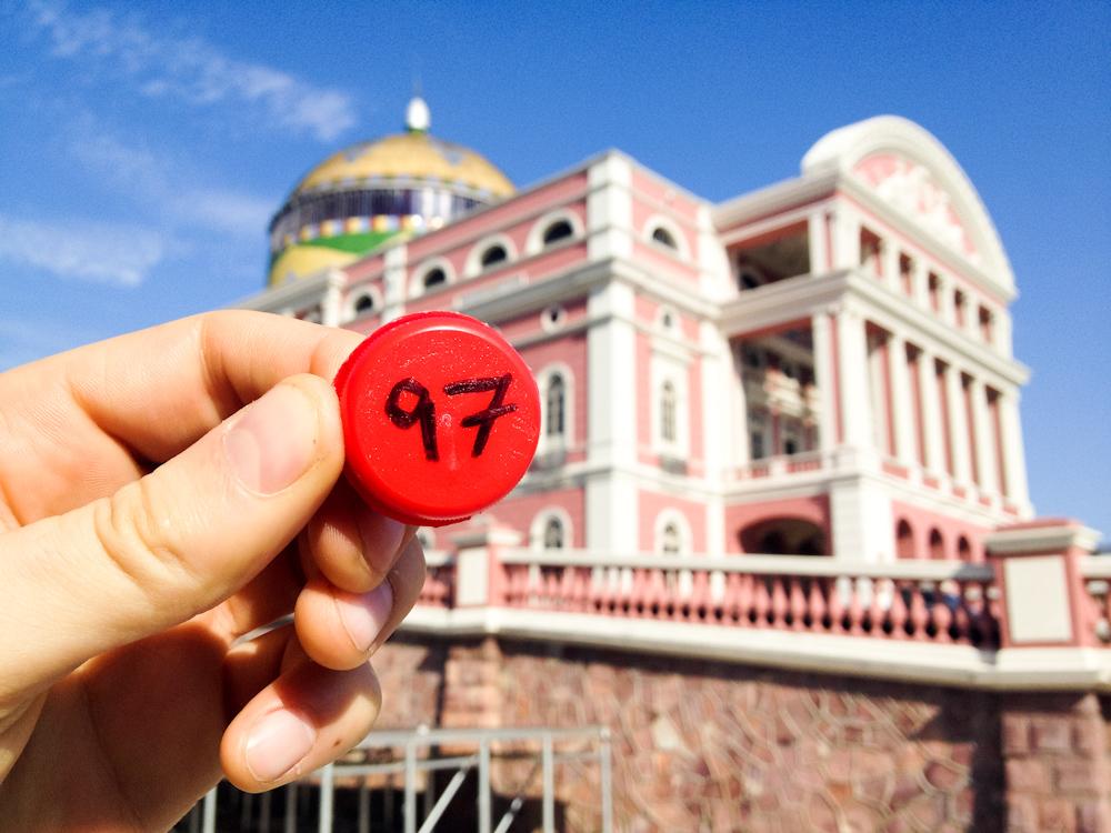 Currency of the Future: Teatro Amazonas, Manaus, Brazil, November 2013.