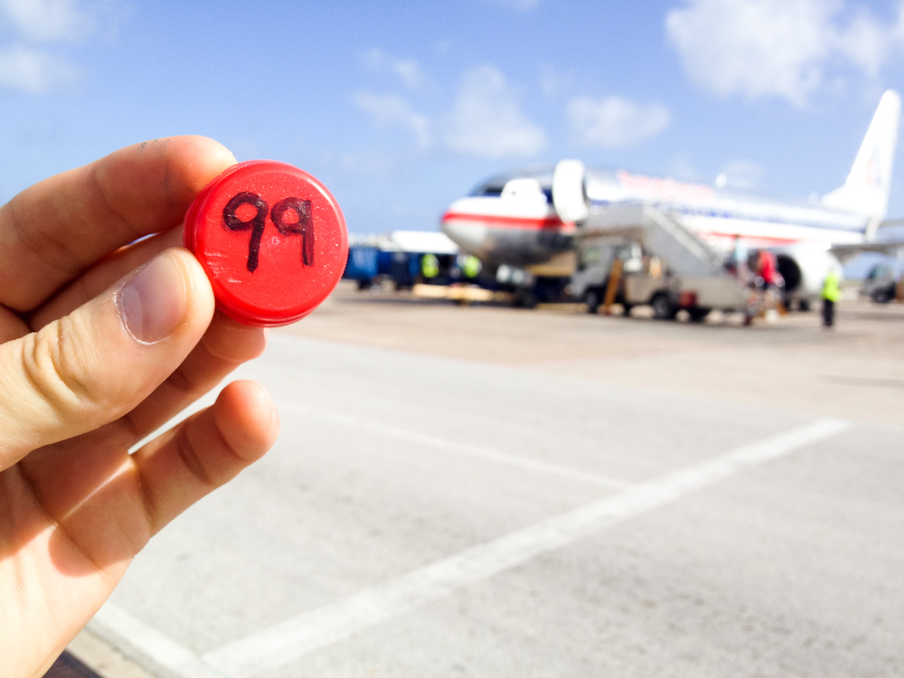 Currency of the Future: Barbados Airport, December 2013.