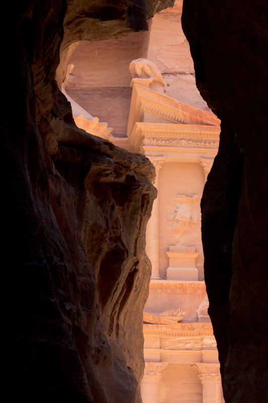 Petra, Jordan: The Treasury from the