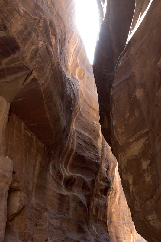 Petra, Jordan: Detail of the Sig.
