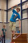Nederlands Jongleer Festival 2013: In the gym.