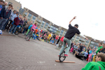 Nederlands Jongleer Festival 2013: Juggling games in Houten.