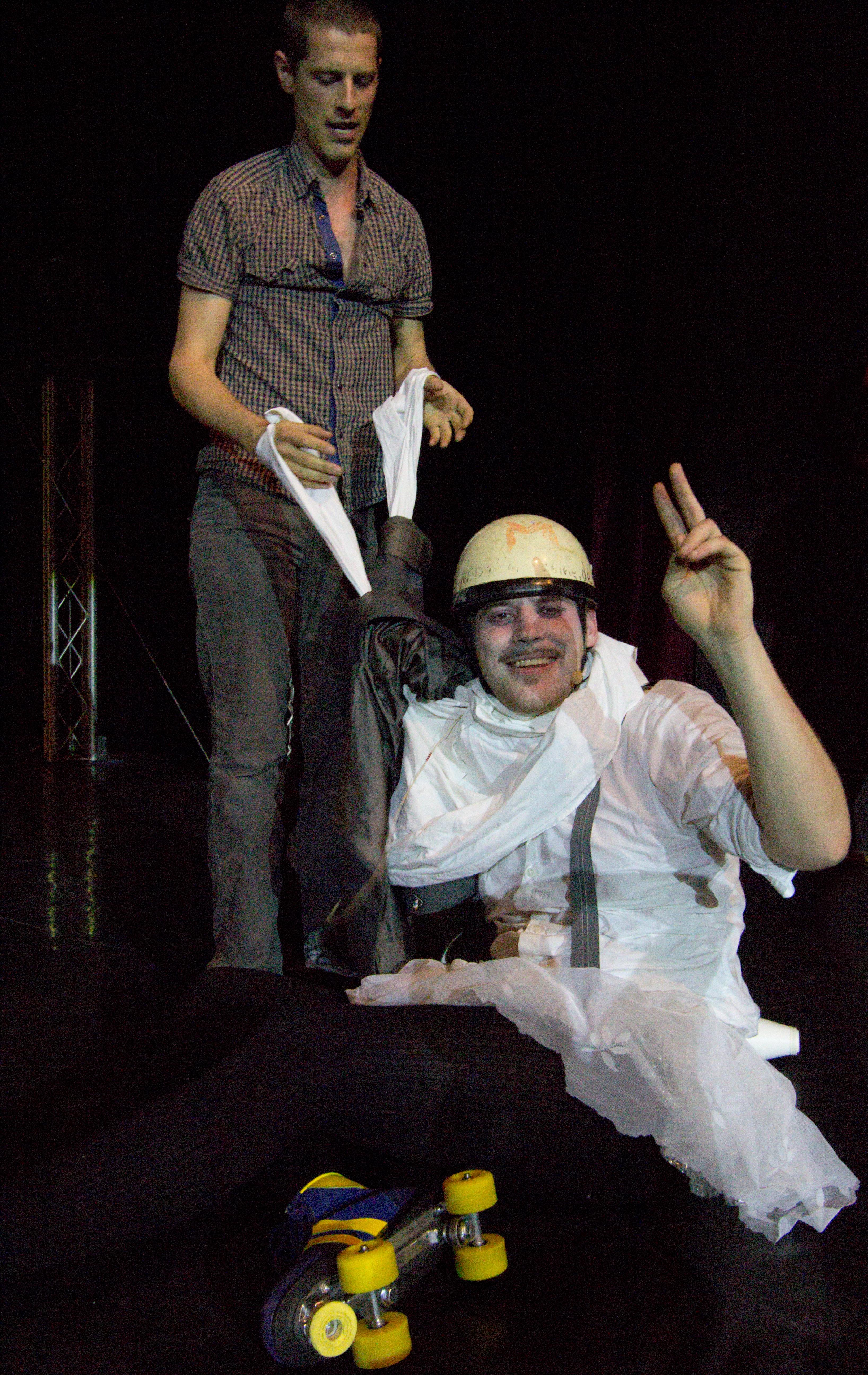 Berlin Juggling Convention 2013 Gala Show: Matthias Romir and Luke Burrage.