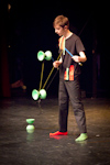 Berlin Juggling Convention 2013 Gala Show: Etienne Chauzy.