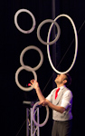 Berlin Juggling Convention 2013 Gala Show: David Severins.