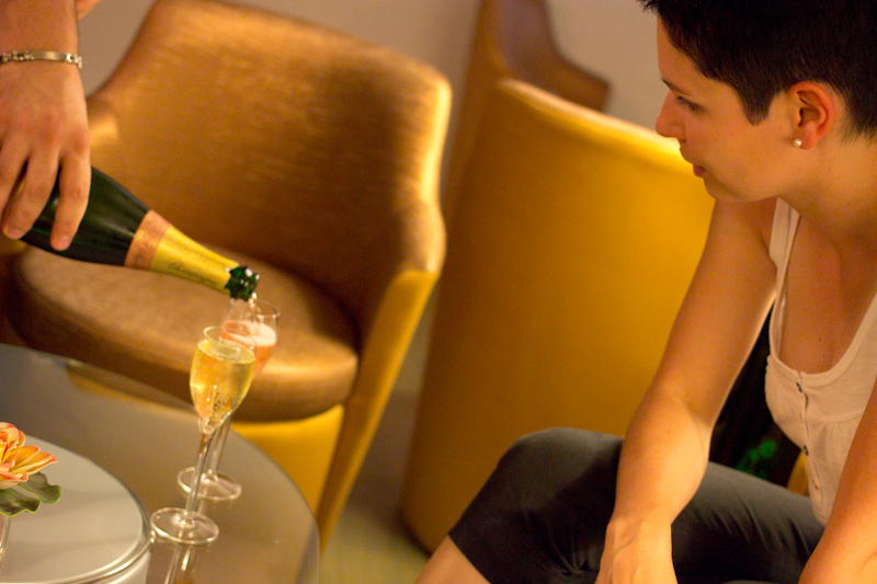 Luke and Juliane Summer Tour part 1: Champagne tasting in Epernay.