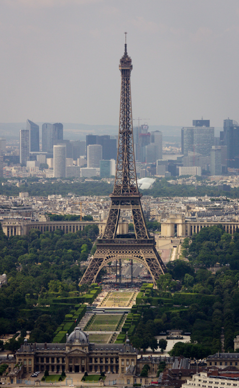 Luke and Juliane Summer Tour part 1: A day in Paris: the view from Tour Montparnasse.