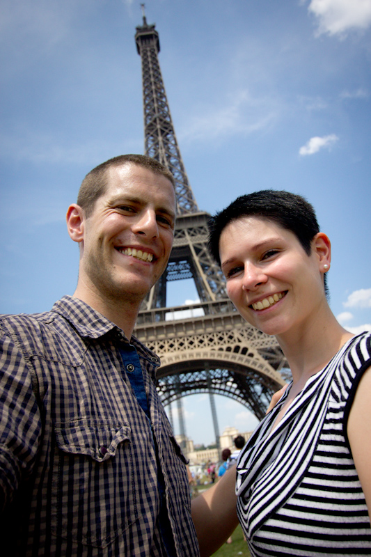 Luke and Juliane Summer Tour part 1: A day in Paris. We didn't get engaged.
