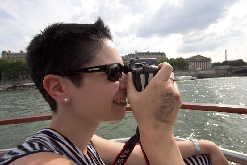 Luke and Juliane Summer Tour part 1: A day in Paris. River cruise.
