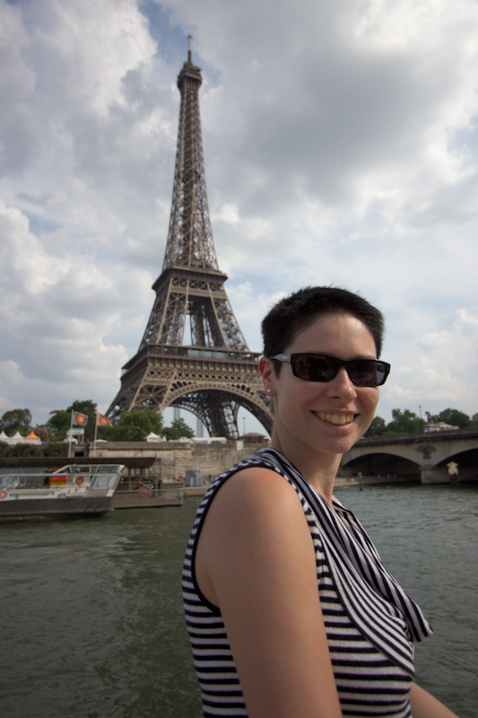 Luke and Juliane Summer Tour part 1: A day in Paris. River cruise.