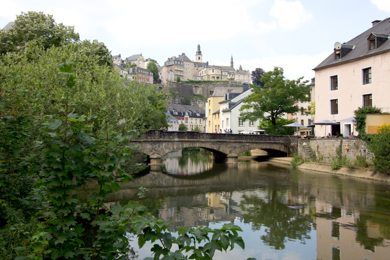Luke and Juliane Summer Tour part 1: Luxembourg, Luxembourg.