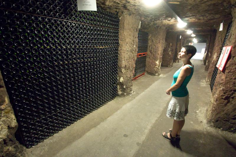 Luke and Juliane Summer Tour part 2 - Castles in the Loire Valley, Dune de Pyla and Condom: Mont-Louis wine cave.