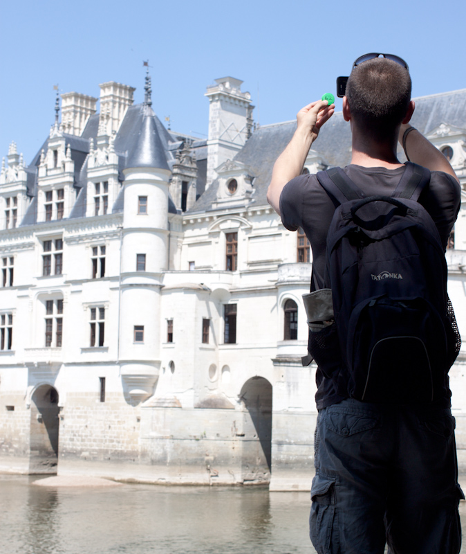 Luke and Juliane Summer Tour part 2 - Castles in the Loire Valley, Dune de Pyla and Condom: Chateau de Chenonceau.