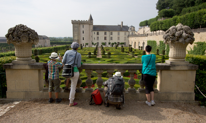 Luke and Juliane Summer Tour part 2 - Castles in the Loire Valley, Dune de Pyla and Condom: Villandry.