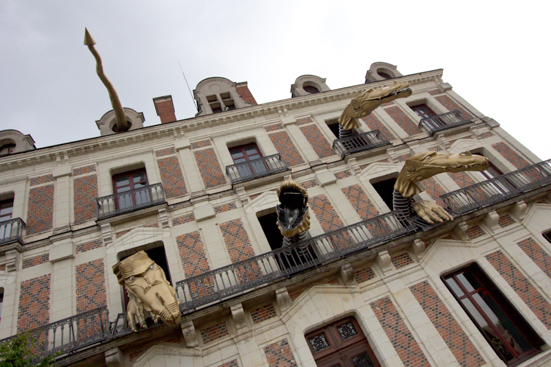 Luke and Juliane Summer Tour part 2 - Castles in the Loire Valley, Dune de Pyla and Condom: Blois House of Magic.