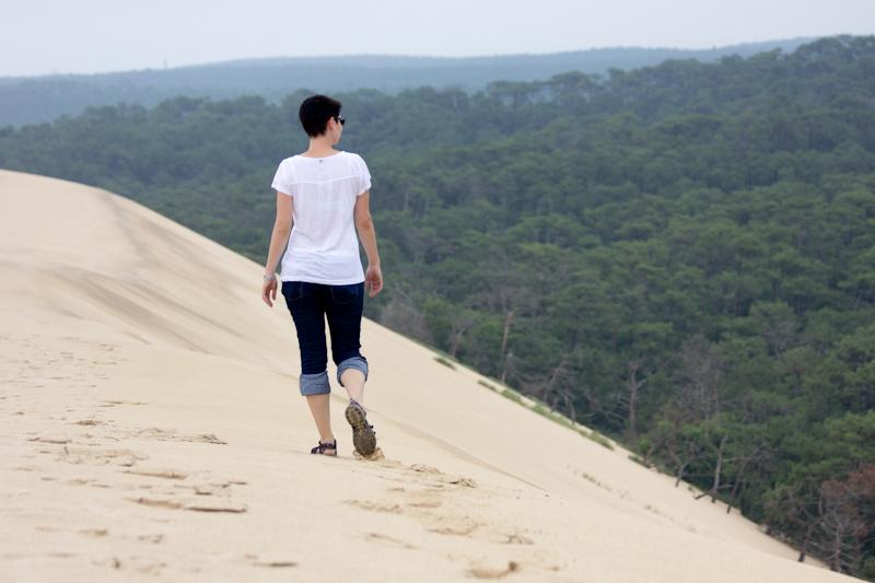 Luke and Juliane Summer Tour part 2 - Castles in the Loire Valley, Dune de Pyla and Condom: Dune de Pyla.