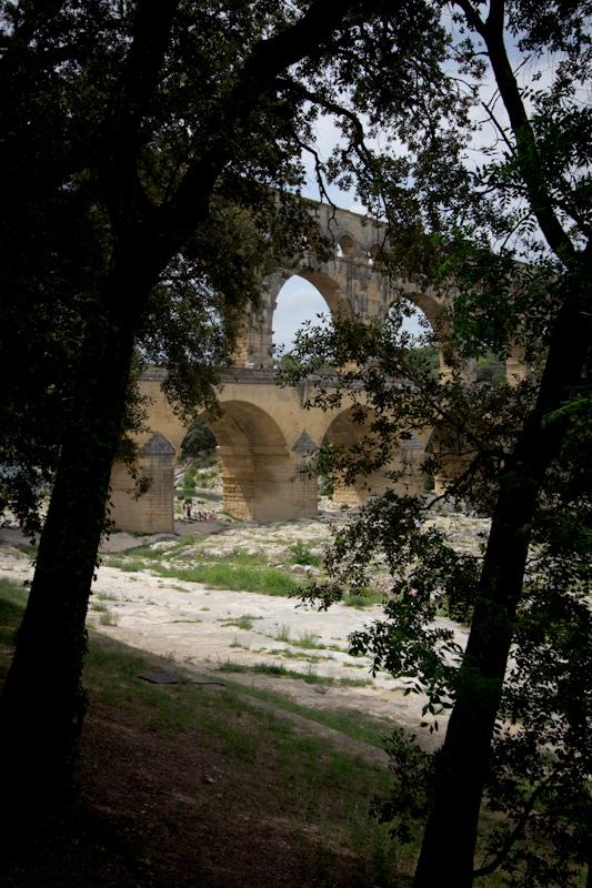 Luke and Juliane Summer Tour part 3 - Pont du Gard, Avignon, Arles, Senanque Abbey, Gordes: Pont du Gard.