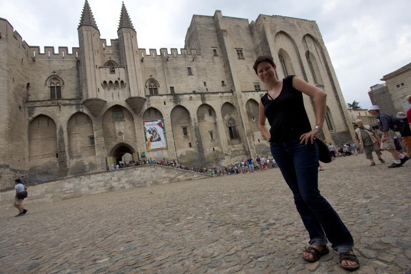Luke and Juliane Summer Tour part 3 - Pont du Gard, Avignon, Arles, Senanque Abbey, Gordes: Avignon.