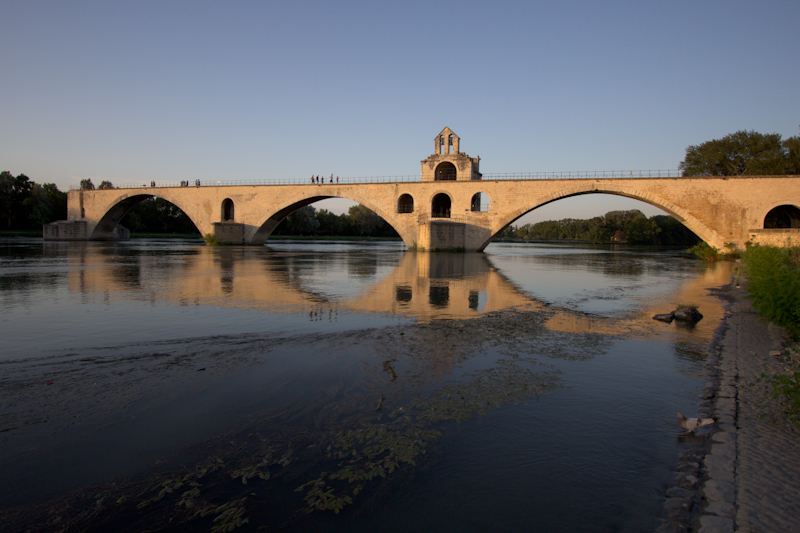Luke and Juliane Summer Tour part 3 - Pont du Gard, Avignon, Arles, Senanque Abbey, Gordes: Avignon.