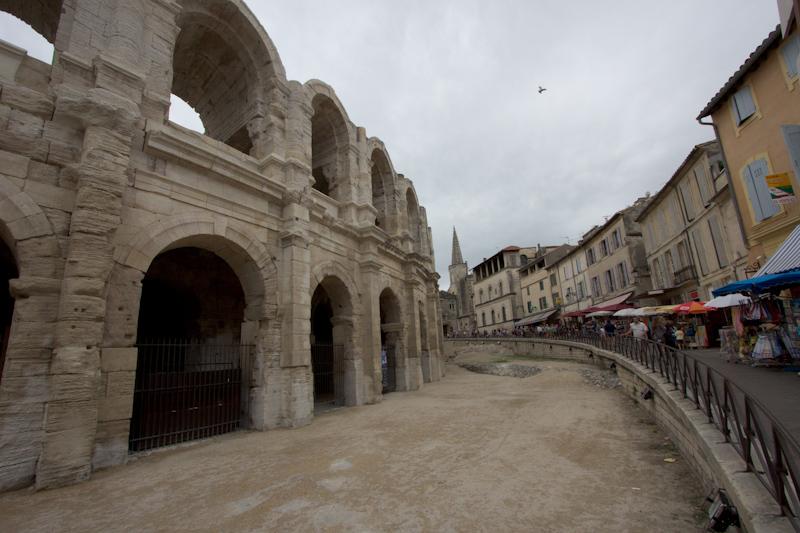 Luke and Juliane Summer Tour part 3 - Pont du Gard, Avignon, Arles, Senanque Abbey, Gordes: Arles.