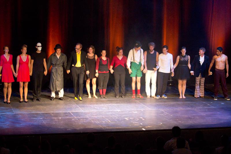 Karlsruhe Jonglier-Festival 2013: Gala show.