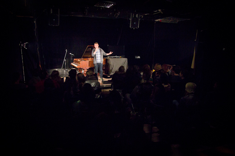 Bitterly Autobiographical Album Launch: November 6th, 2013. Photos by Juliane Kunzendorf.