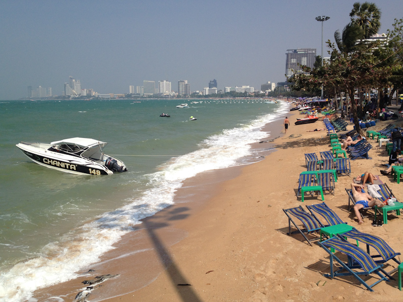 Asia Trip January 2014: Pattaya, Thailand.