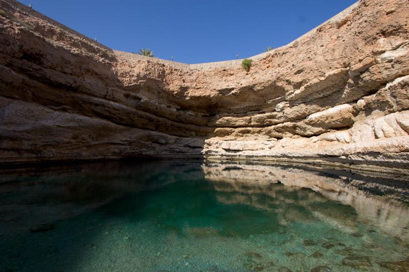 Asia Trip January 2014: Bimmah Sinkhole, Oman.