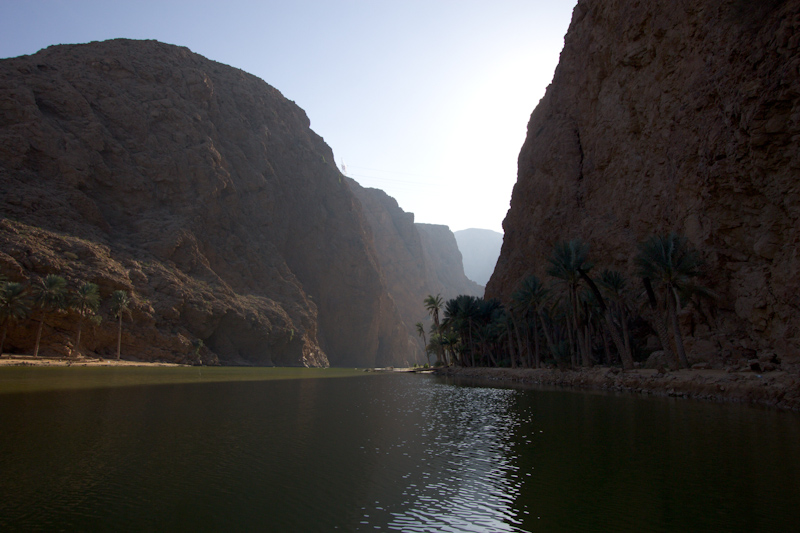 Asia Trip January 2014: Wadi Shaam, Oman.