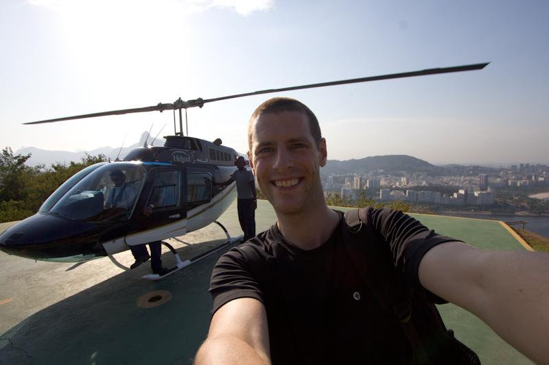 Rio de Janeiro, Brazil: Helicopter flight over Rio.