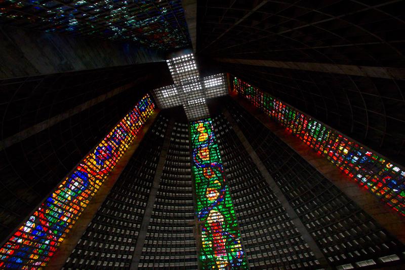 Rio de Janeiro, Brazil: Rio Cathedral.