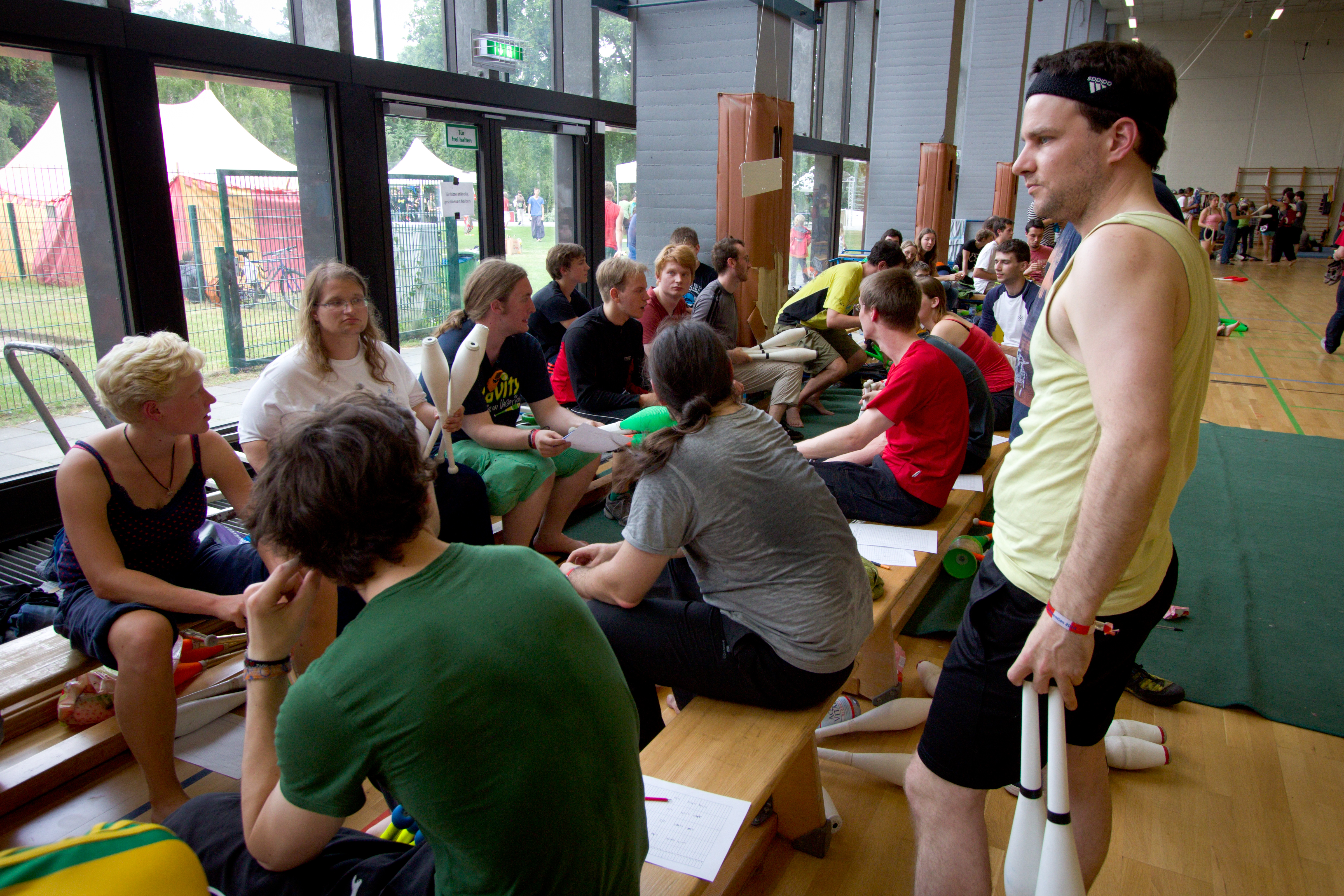 Berlin Juggling Convention 2014: Fight Night Qualification.