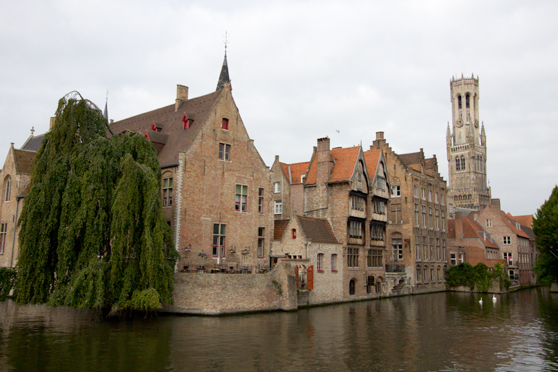 September Cruise on the Prinsendam: Bruges, Belgium.