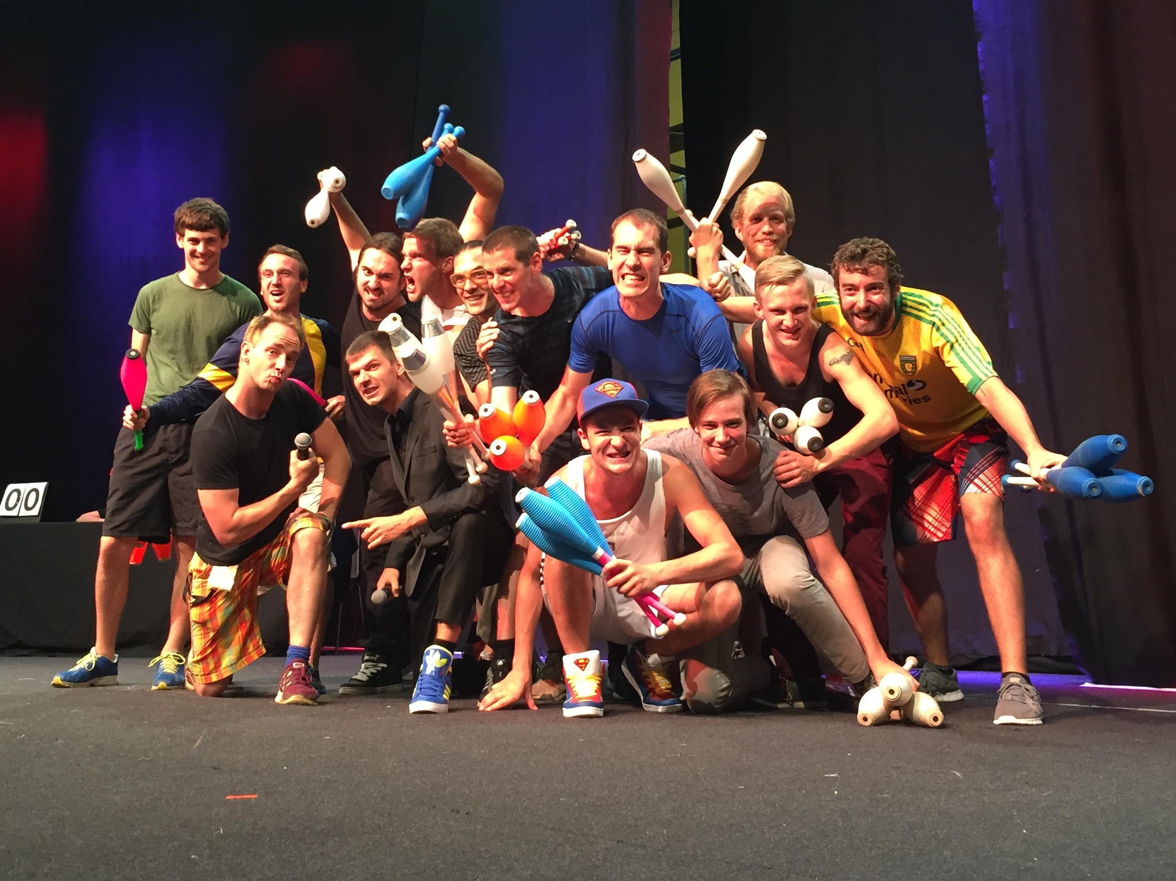 EJC 2015 Bruneck - Wednesday August 5th: Fight Night.