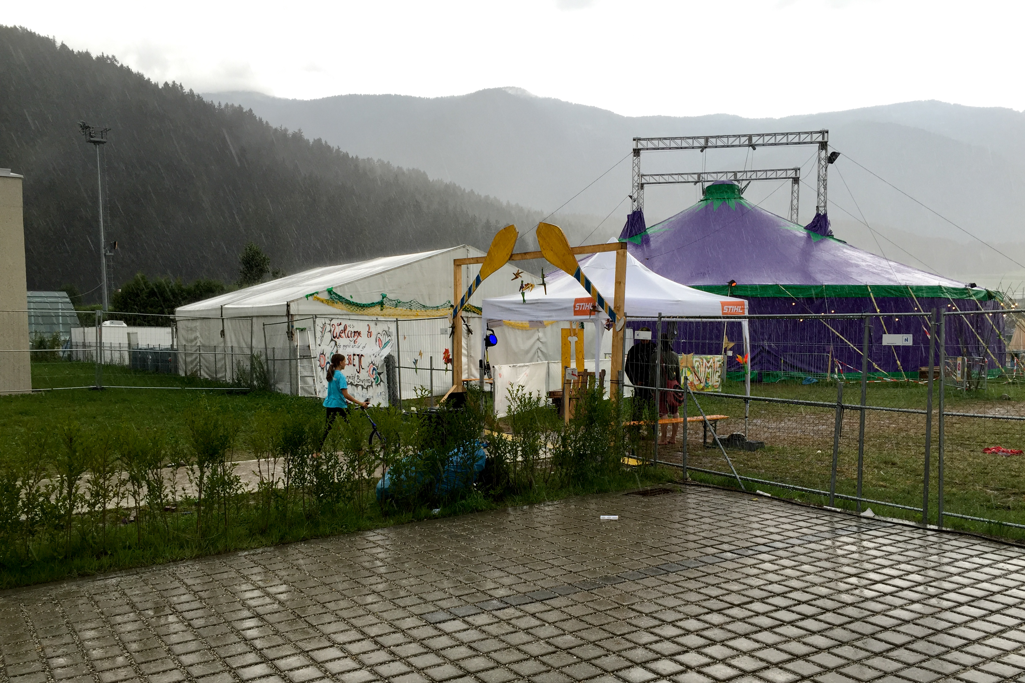 EJC 2015 Bruneck - Saturday August 8th: Saturday rain.