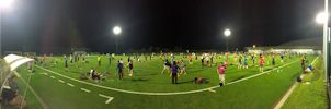 EJC 2015 Bruneck - Monday August 3rd: Soccer field panorama (night).