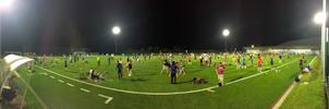 EJC 2015 Bruneck - Monday August 3rd: Soccer field panorama (night).