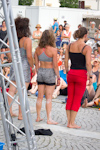 EJC 2015 Bruneck - Tuesday August 4th: Les Trois Culottes Street Show.