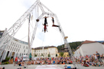 EJC 2015 Bruneck - Tuesday August 4th: Les Trois Culottes Street Show.