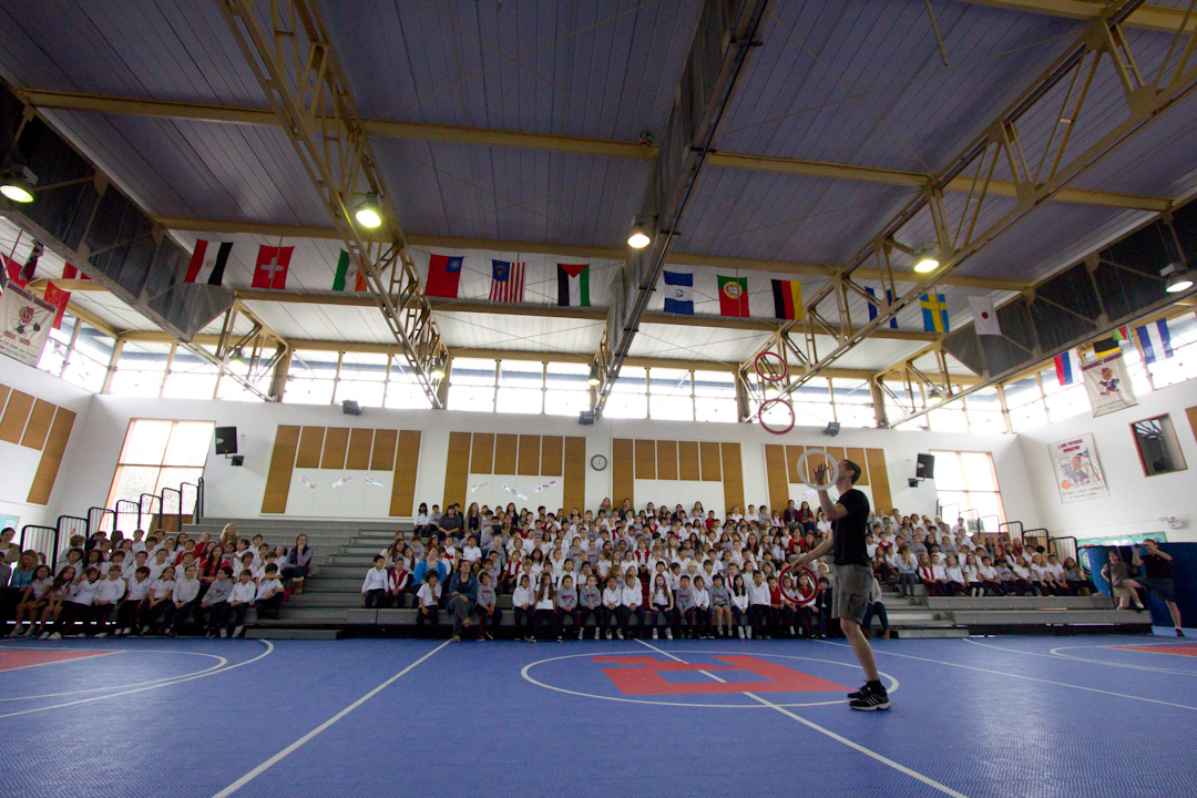 99 Random Photos I Forgot to Share Since October 2014: School show in Lima, Peru.